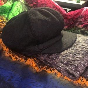 "FREE SCARF with Nine West Wool ""Newsboy"" Cap !!"